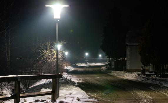 """Hut Cap"" - dekorative LED - Straßenleuchte   ""Hut Cap"" - decorative LED - Streetlight"