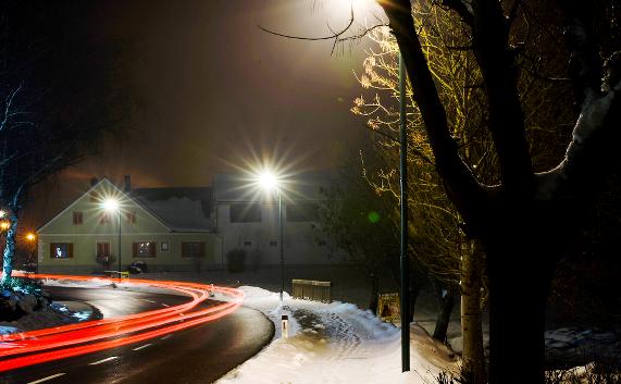 """Glocke / Village"" - dekorative LED - Straßenleuchte   ""Cloche / Village"" - decorative LED - Streetlight"
