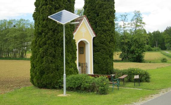 LED - Solar-Leuchte   LED - Solar-Lamp